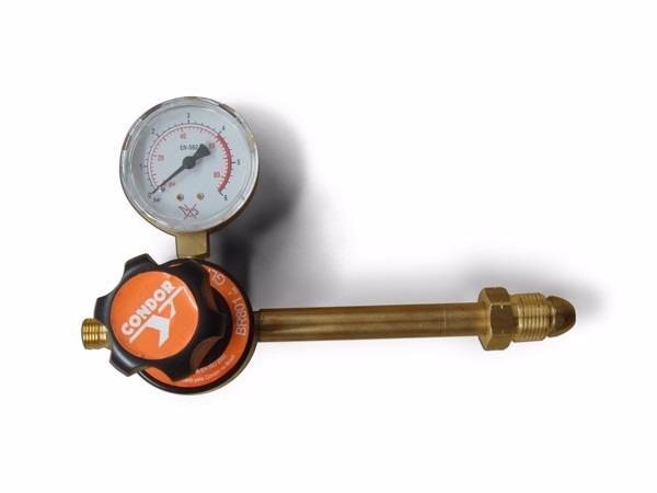 Regulador de pressão condor glp/gn 45kg para cilindro de