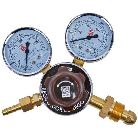 Regulador de pressão para cilindro de argônio - v8