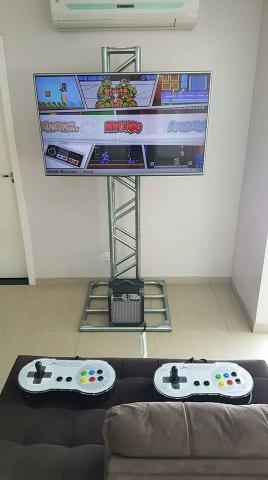 Retrô game consoles antigos