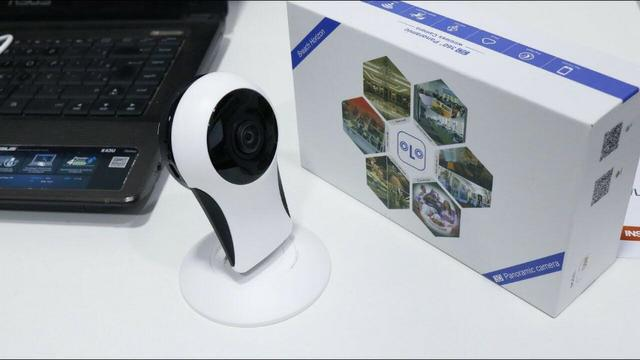 Câmera ip wireless sem fio 360º câmara panorâmica fácil