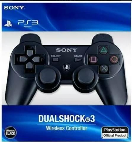 Controle para ps3 dual shock. (novo)