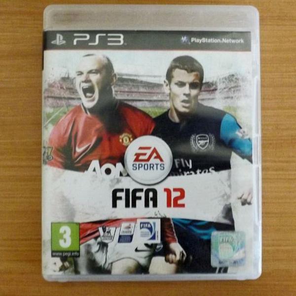 2 jogos ps3 fifa 2012 e pes 2011