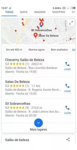 20 avaliações 5 estrelas estabelecimento google maps - r$