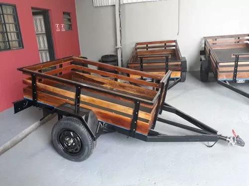 Aluguel carretinha reboque carreta fazendinha campinas