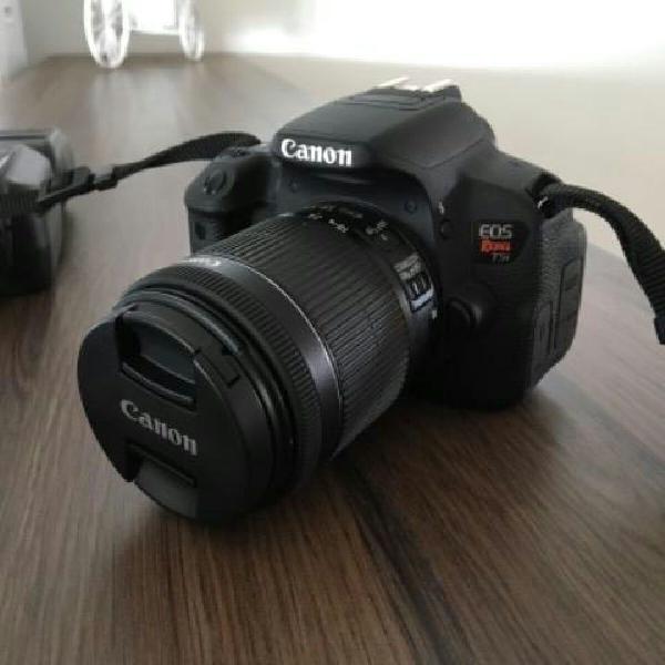 Canon t5i 18-55mm + bolsa