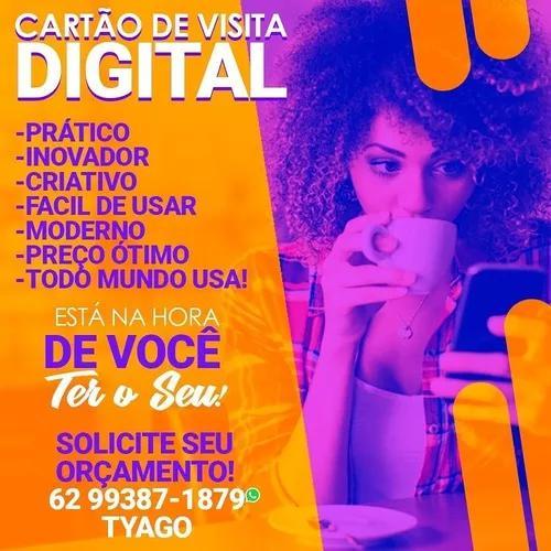 Cartão de visita digital/cartão de visita interativo