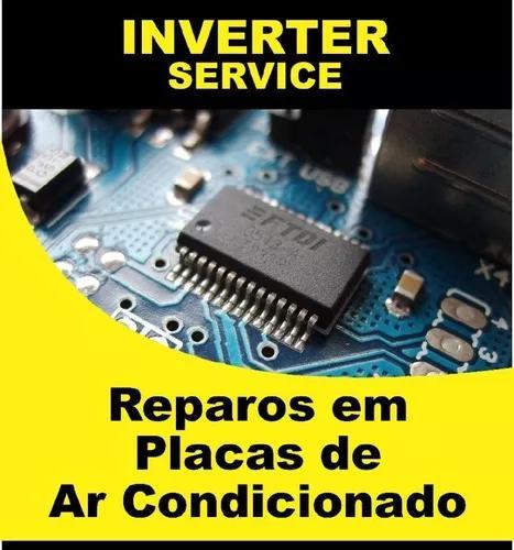 Conserto reparo de placas inverter ar condicionado campinas