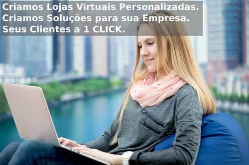 Criação de loja virtual profissional personalizada