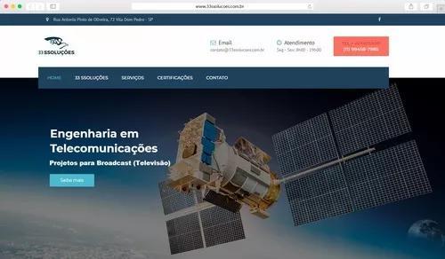 Criação de site e loja virtuai completa