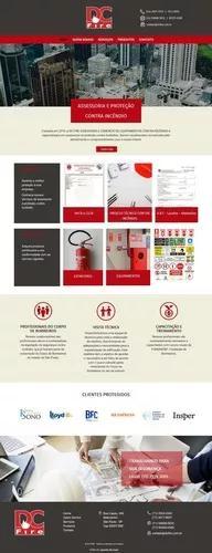 Criação de sites institucional. responsivo e