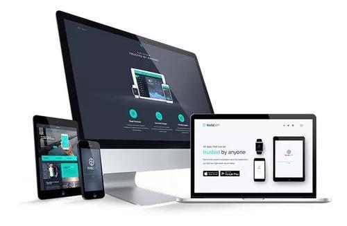 Criação de sites modernos e profissionais