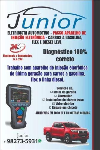 Eletricista de automóveis de plantão