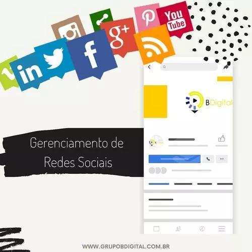 Gerenciamento de redes sociais para micro-