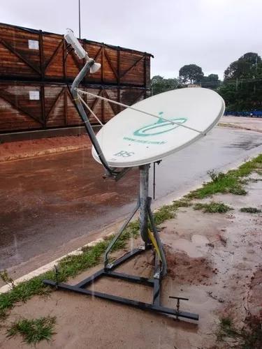 Internet via satélite ilimitada