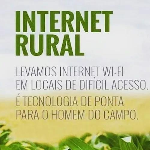 Internet via satélite - rural - para o campo áreas rurais