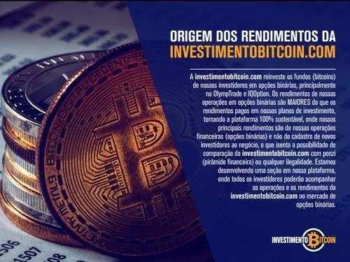 Investimento bitcoin plataforma oficial patrocinador