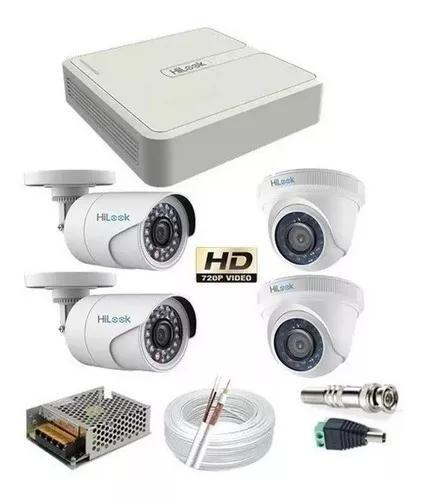 Kit cftv 4 cameras + instalação
