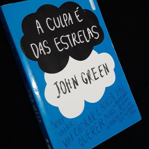Livro - A culpa é das estrelas (John Green)