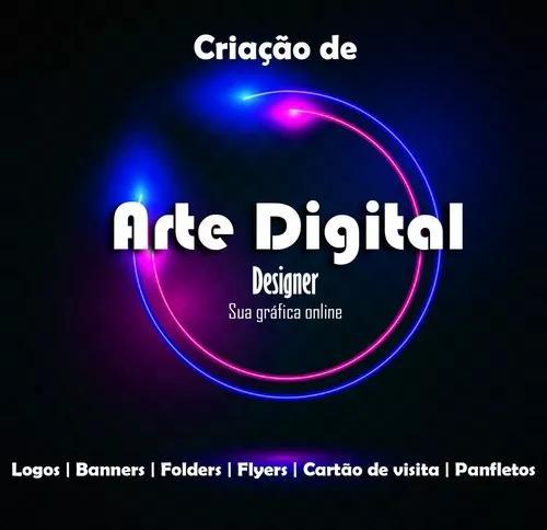 Logotipo, arte digital, banner, cartão de visitas