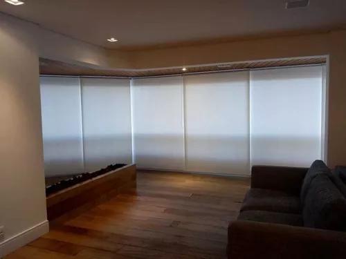 Persiana rolo - tela solar - blackout - double vision