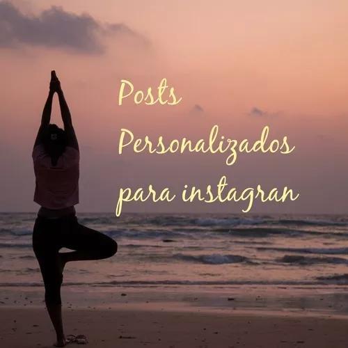Posts, pôsteres, postagens, propaganda para instagran