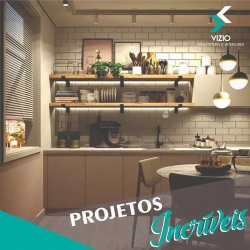 Projeto de cozinha planejada e modulada completo