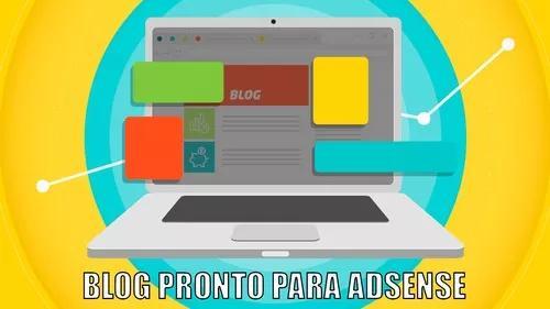 Site para ganhar dinheiro | blog pronto + sist