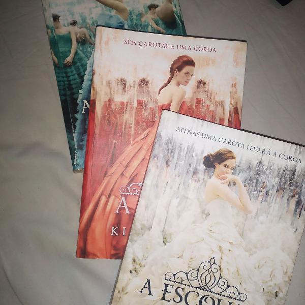 Série de livros 'a seleção'
