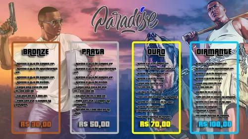 Vip - servidor paradise roleplay
