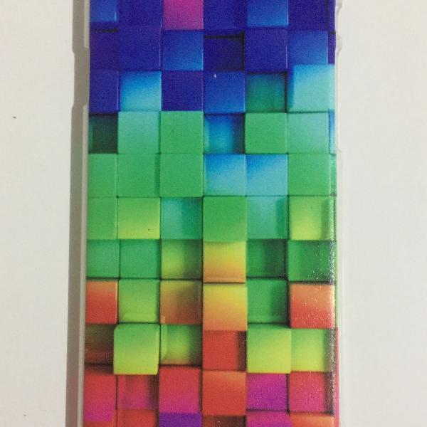 Case geométrica colorida iphone 6/6s
