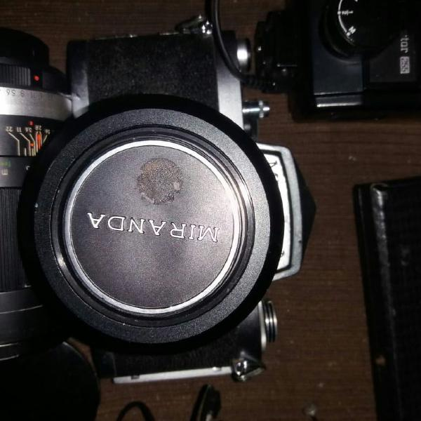 Câmera fotográfica miranda e olympus
