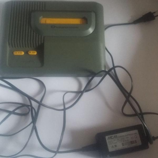 Console dynavision usado funcionando com 30 jogos