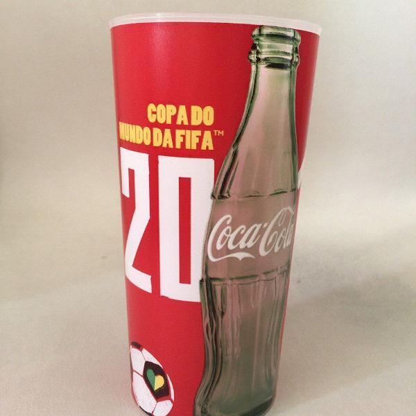 Copo coca cola copa mundo brasil 2014