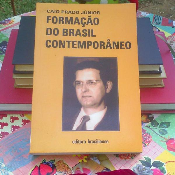 Formação do brasil contemporâneo - caio prado júnior