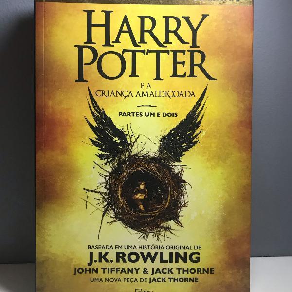Harry potter e a criança amaldiçoada/ cursed child