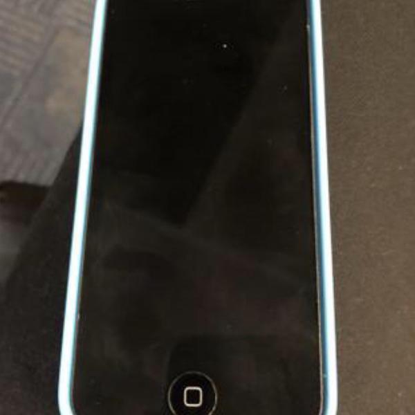 Iphone 5c 16gb azul em perfeito estado