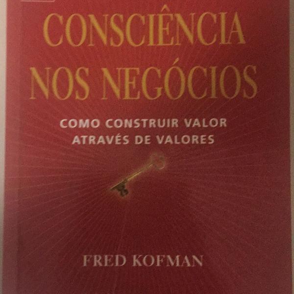 Livro consciência nos negócios