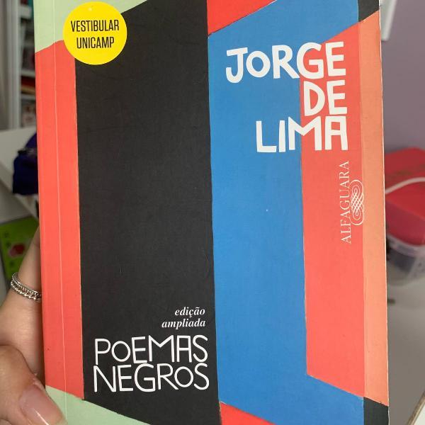 Livro poemas negros jorge de lima
