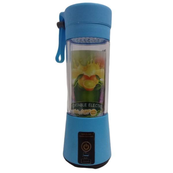 Mini liquidificador portátil p/ shake sucos recarregável