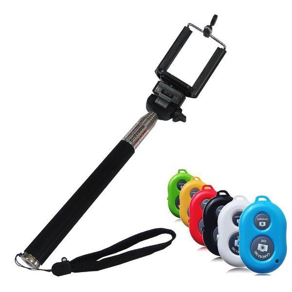 Monopod bastão universal de selfie pau de self com controle