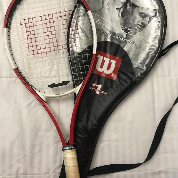 Raquete tenis wilson federer