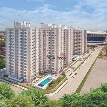Apartamento residencial para locação, humaitá, porto