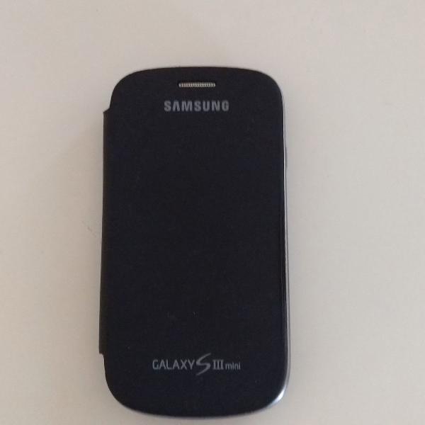 Galaxy s3 mini, usado, display de 4.0, câmera de 5mp, com
