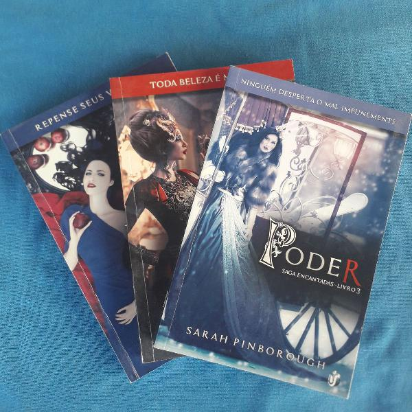 Saga encantadas - 3 livros
