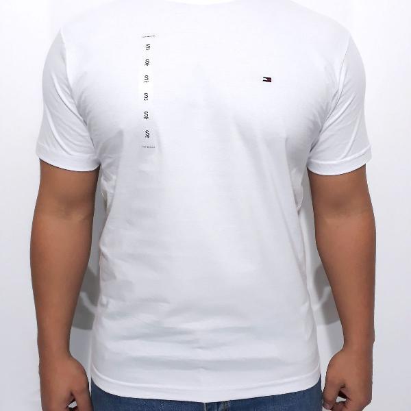 Camiseta lacoste e tommy hilfiger basic novas