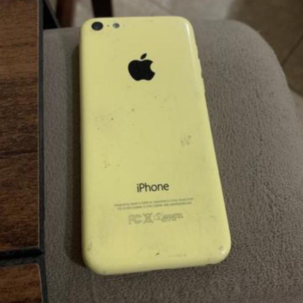 Iphone 5c 8gb amarelo usado