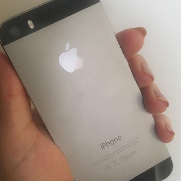 Iphone 5s 16 giga precinho!! conservado!