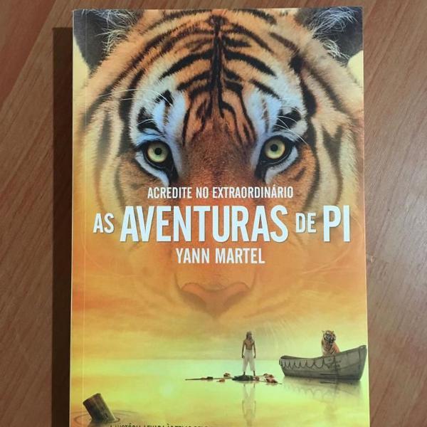 Livro as aventuras de pi + alice no pais das maravilhas