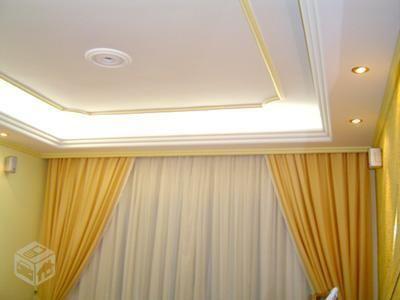 Gesseiro teto reto ou decorado