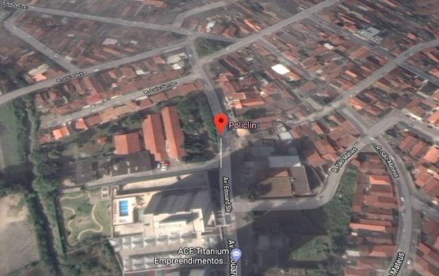 Terreno de 954 m² próximo ao hospital policlin em